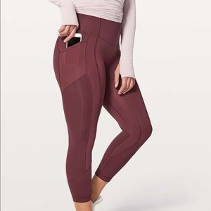 """Lululemon All The Right Places Crop ll 23"""""""
